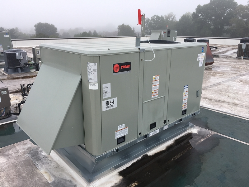KPG - Lupin Trane 7.5 vav package unit | RF Power Ventilation Inc